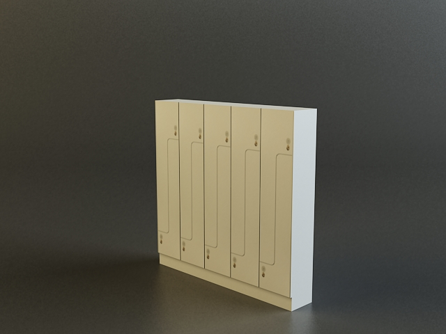 locker 3d model 3ds max obj 139112