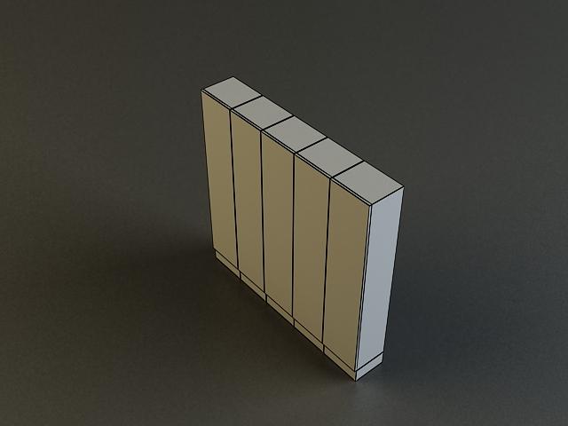 locker 3d model 3ds max obj 139115