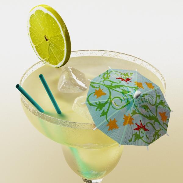 margarita cocktail – high detailed 3d model 3ds max fbx obj 140277