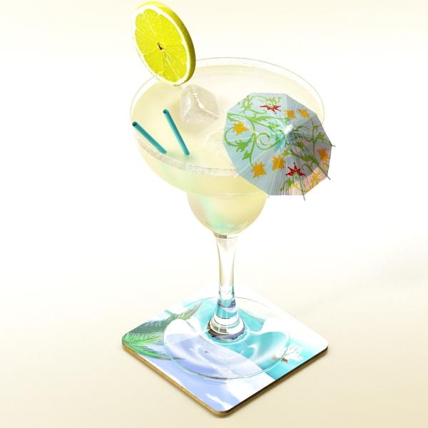 margarita cocktail – high detailed 3d model 3ds max fbx obj 140278