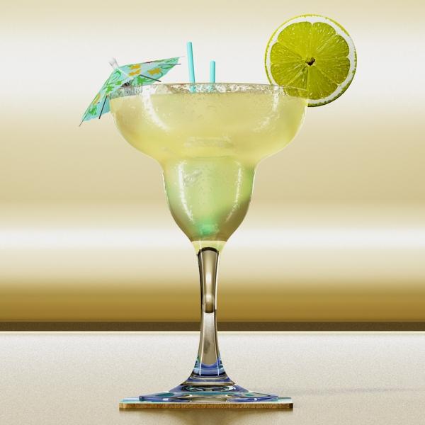 margarita cocktail – high detailed 3d model 3ds max fbx obj 140279
