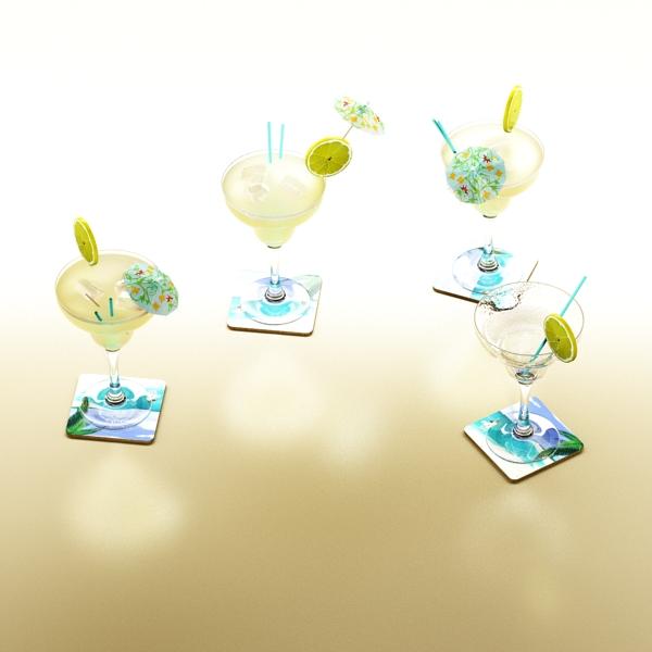 margarita cocktail – high detailed 3d model 3ds max fbx obj 140281