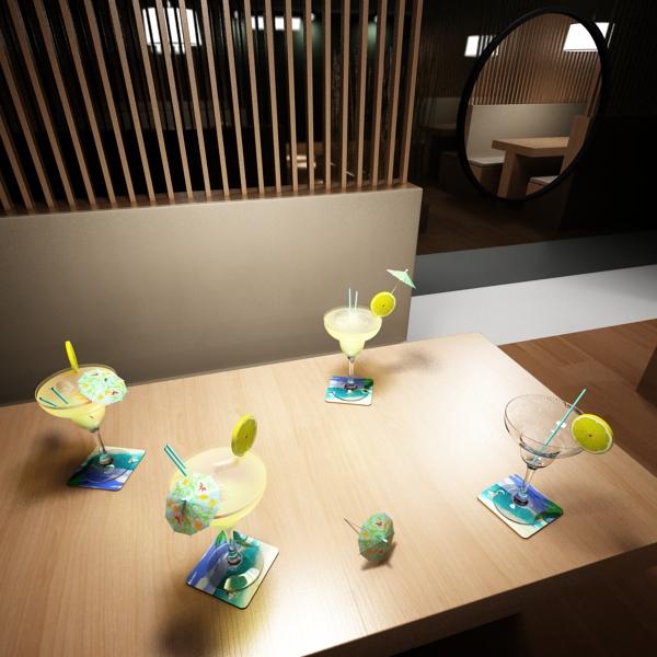 margarita cocktail – high detailed 3d model 3ds max fbx obj 140282