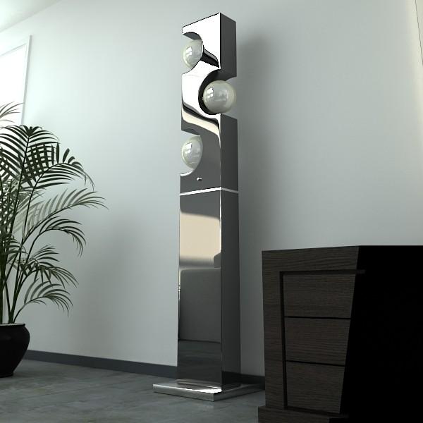 modern floor lamp 01 3d model 3ds max fbx obj 134900