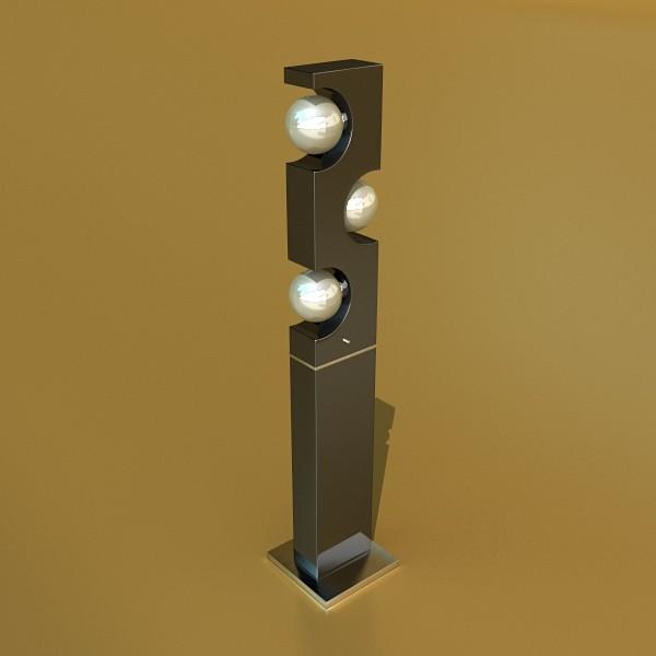 modern floor lamp 01 3d model 3ds max fbx obj 134902