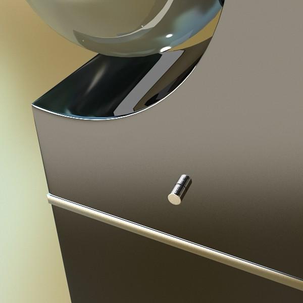 modern floor lamp 01 3d model 3ds max fbx obj 134903