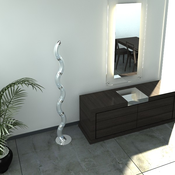 modern floor lamp 03 3d model 3ds max fbx obj 134993