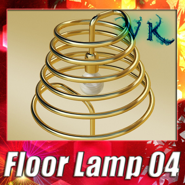modern floor lamp 04 elice 3d model 3ds max fbx obj 135203