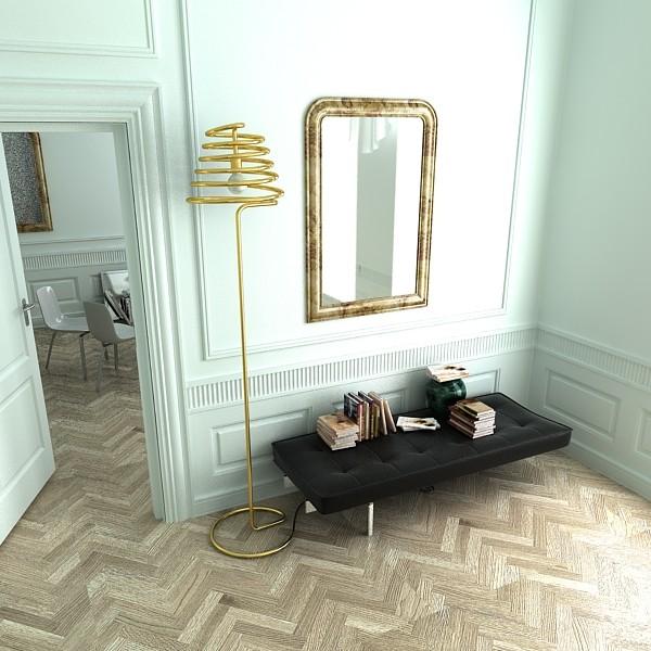 modern floor lamp 04 elice 3d model 3ds max fbx obj 135208