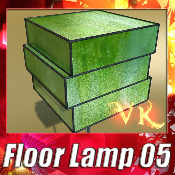 modern floor lamp 05 encaixe 3d model modern floor 3d model 3ds max fbx obj 135194