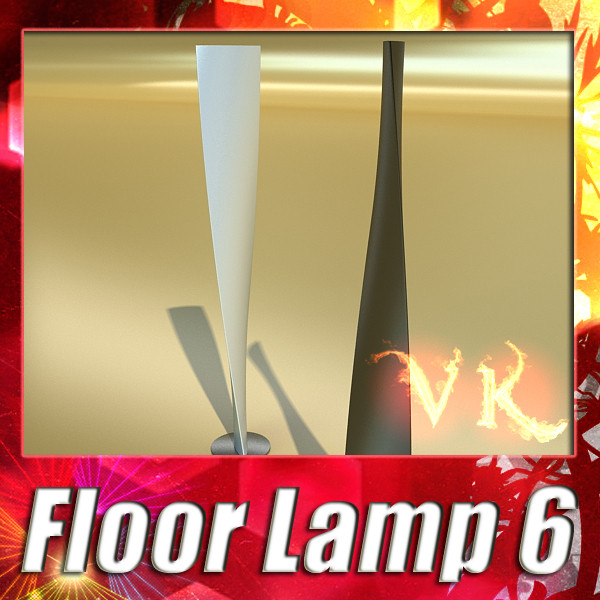 modern floor lamp 06 encaixe 3d model 3ds max fbx obj 135214