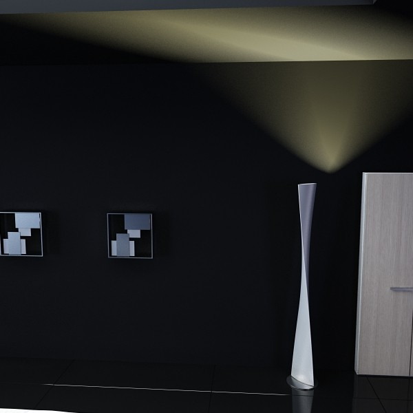 moderna podna lampa 06 encaixe 3d model 3ds max fbx obj 135219