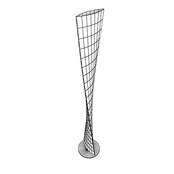 modern floor lamp 06 encaixe 3d model 3ds max fbx obj 135221