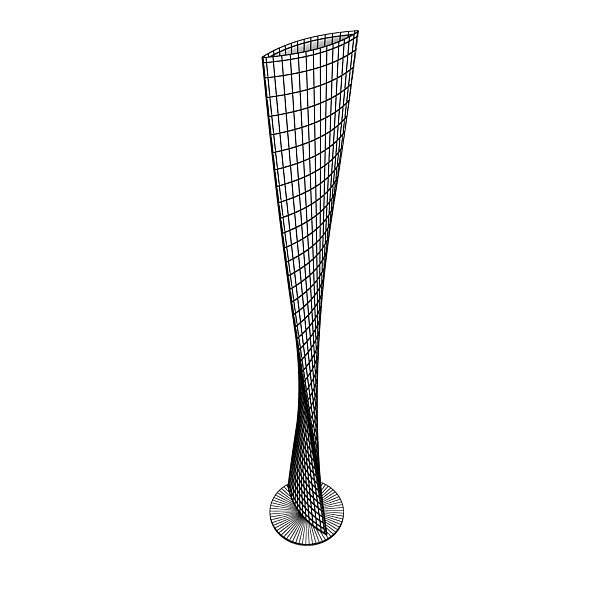 modern floor lamp 06 encaixe 3d model 3ds max fbx obj 135222