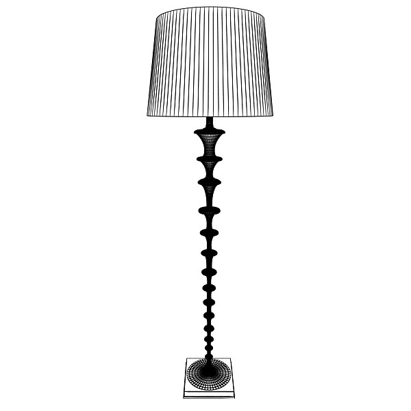 modern floor lamp 08 lunette 3d model 3ds max fbx obj 135254