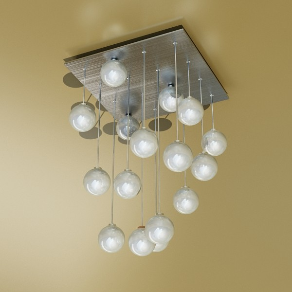 modern pendant lamp 04 3d model 3ds max fbx obj 135000
