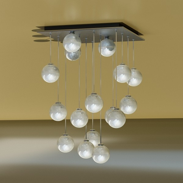 modern pendant lamp 04 3d model 3ds max fbx obj 135002