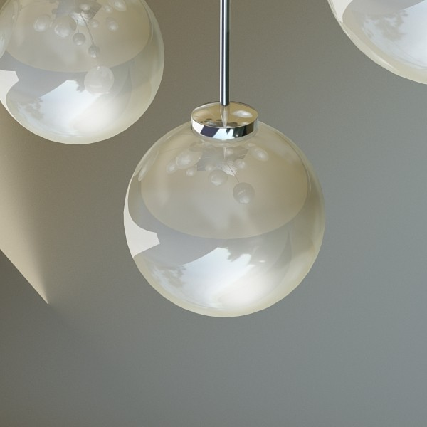 modern pendant lamp 04 3d model 3ds max fbx obj 135003