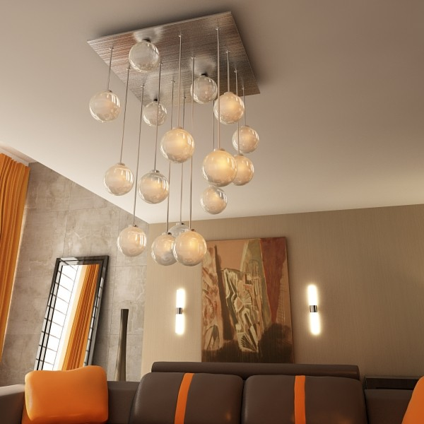 modern pendant lamp 04 3d model 3ds max fbx obj 135004
