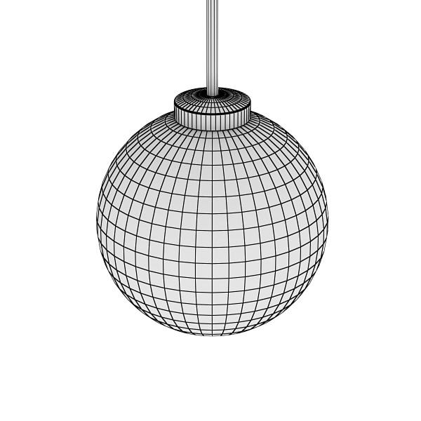 moderna viseća lampa 04 3d model 3ds max fbx obj 135008
