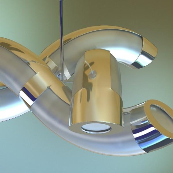 modern pendant lamp 05 3d model 3ds max fbx obj 135011
