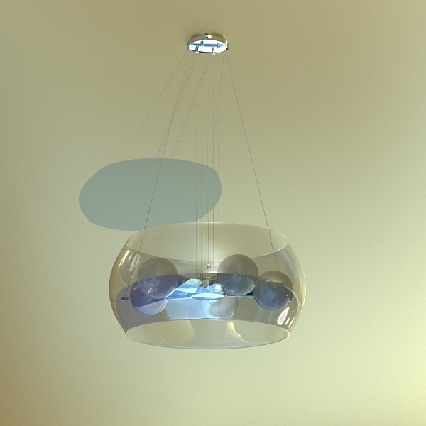 modern pendant lamp 06 3d model 3ds max fbx obj 135019