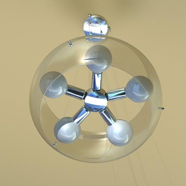 modern pendant lamp 06 3d model 3ds max fbx obj 135020