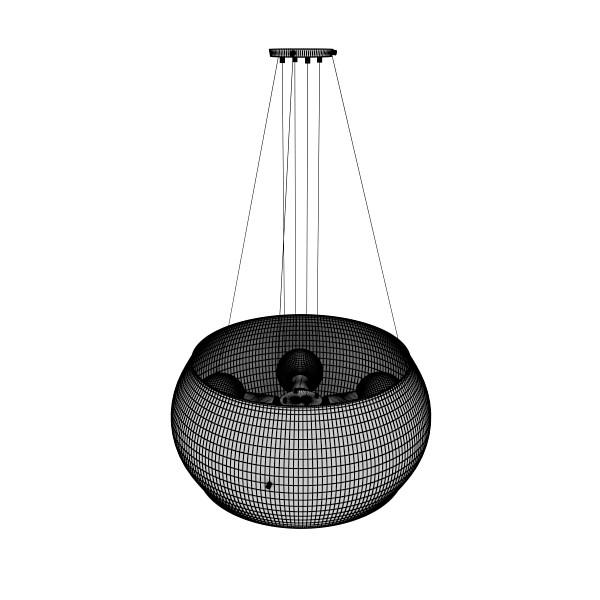 modern pendant lamp 06 3d model 3ds max fbx obj 135025