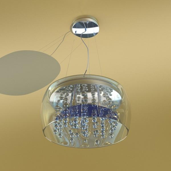 modern pendant lamp 07 3d model 3ds max fbx obj 135028