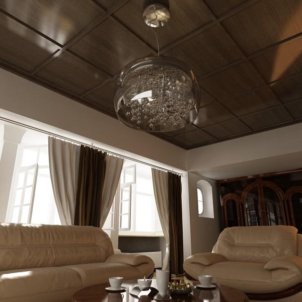 modern pendant lamp 07 3d model 3ds max fbx obj 135031
