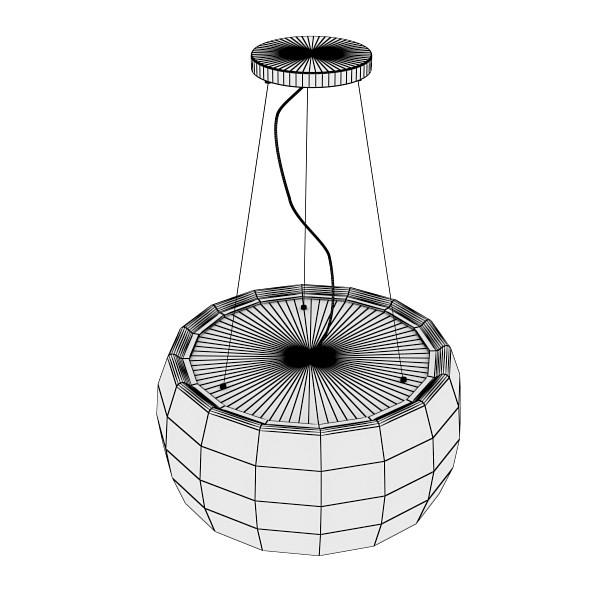 modern pendant lamp 07 3d model 3ds max fbx obj 135033