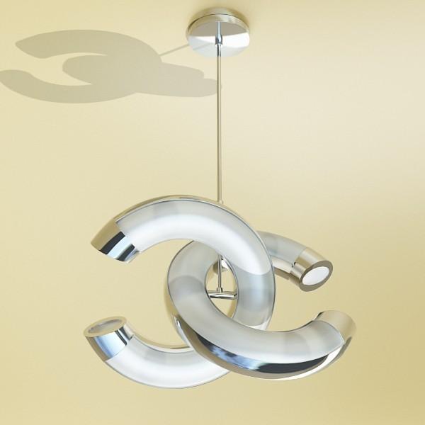 modern pendant lamp 08 3d model 3ds max fbx obj 135038