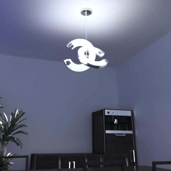 modern pendant lamp 08 3d model 3ds max fbx obj 135042