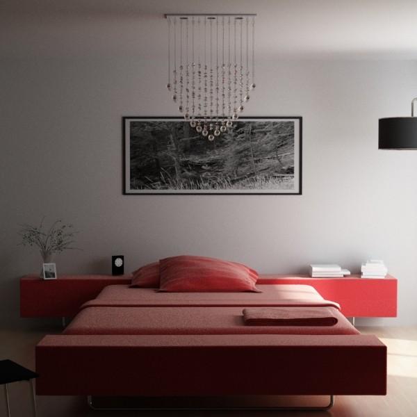 modern pendant lamp 10 3d model 3ds max fbx obj 135094
