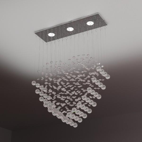 modern pendant lamp 10 3d model 3ds max fbx obj 135097
