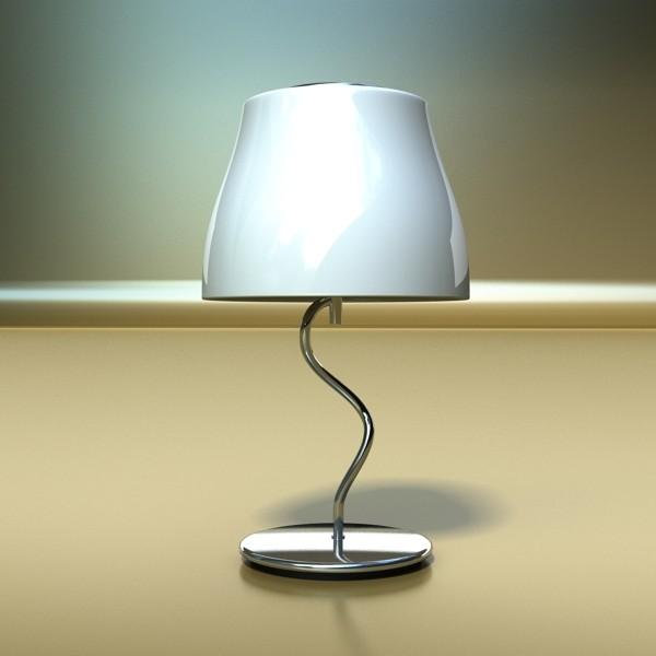 modern table lamp 02 circle t 28 3d model 3ds max fbx obj 135387
