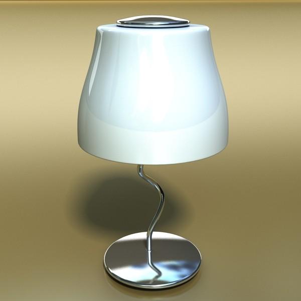 modern table lamp 02 circle t 28 3d model 3ds max fbx obj 135388