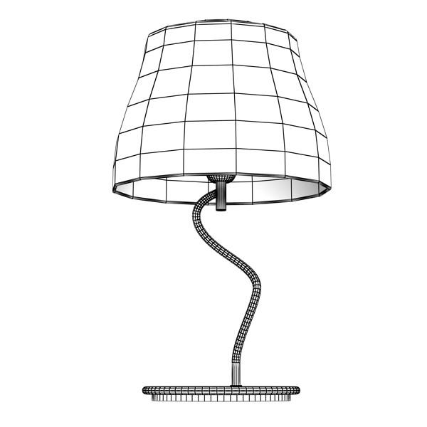 modern table lamp 02 circle t 28 3d model 3ds max fbx obj 135394