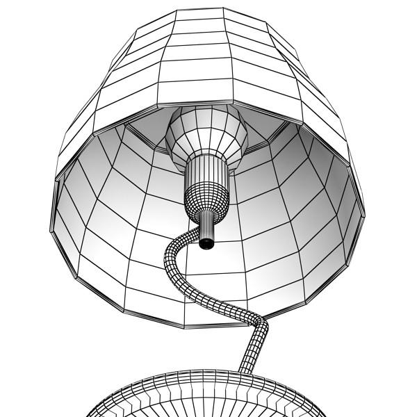 modern table lamp 02 circle t 28 3d model 3ds max fbx obj 135395