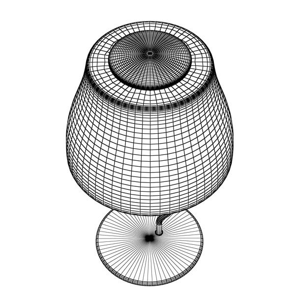 modern table lamp 02 circle t 28 3d model 3ds max fbx obj 135397