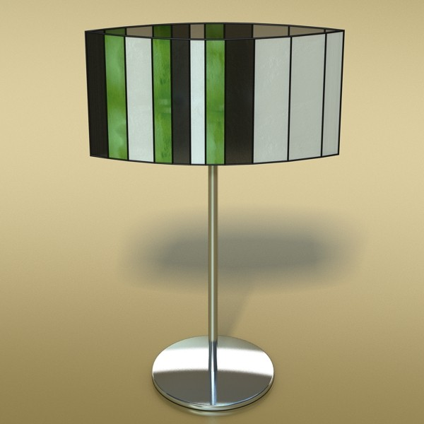 modern table lamp 03 sophie 3d model 3ds max fbx obj 135406