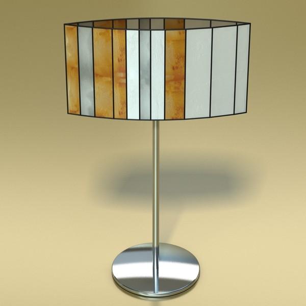 modern table lamp 03 sophie 3d model 3ds max fbx obj 135407