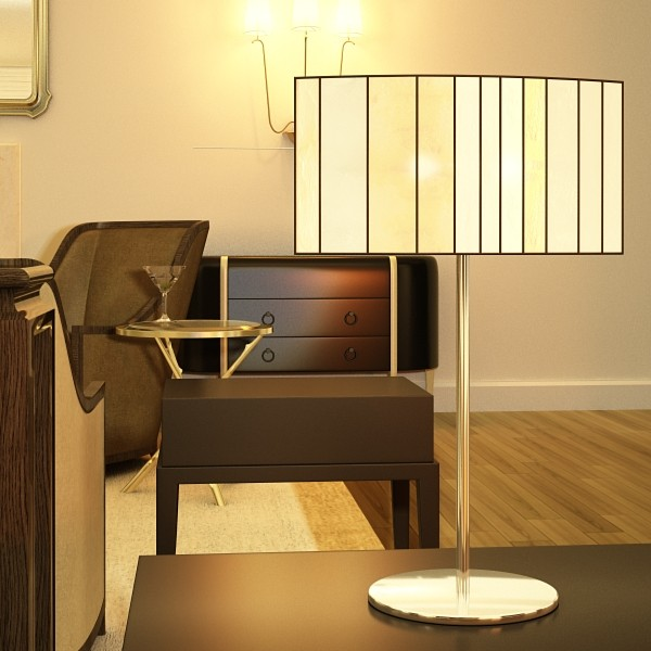 modern table lamp 03 sophie 3d model 3ds max fbx obj 135411