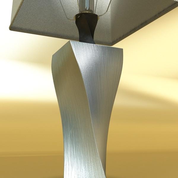 modern table lamp 07 silver 3d model 3ds max fbx obj 135438