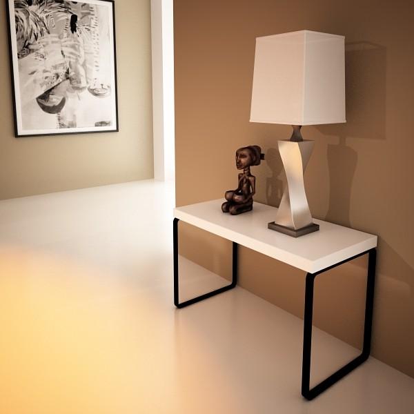 modern table lamp 07 silver 3d model 3ds max fbx obj 135439