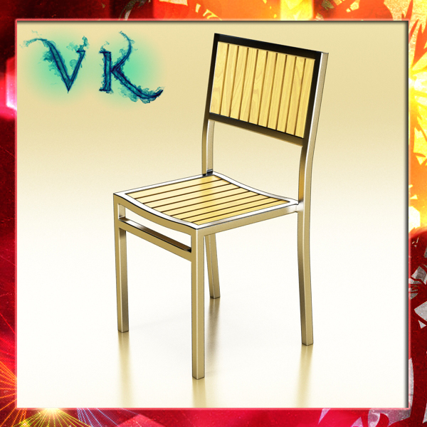outdoor chair 3d model 3ds max fbx obj 148376
