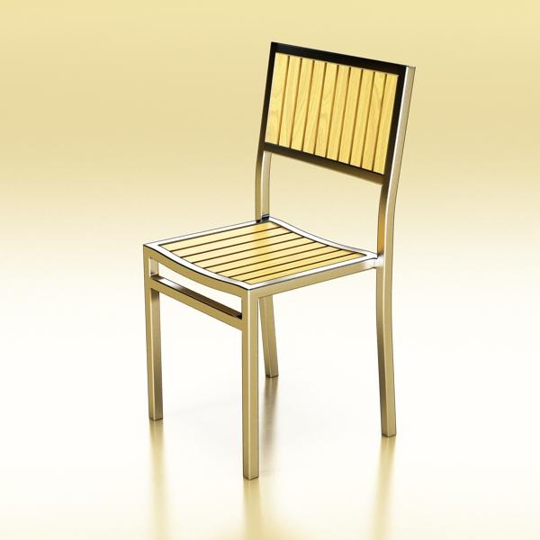 outdoor chair 3d model 3ds max fbx obj 148377