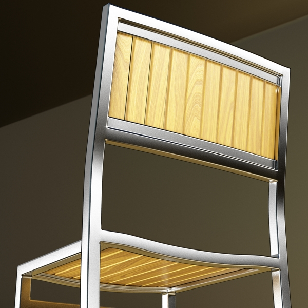 outdoor chair 3d model 3ds max fbx obj 148379