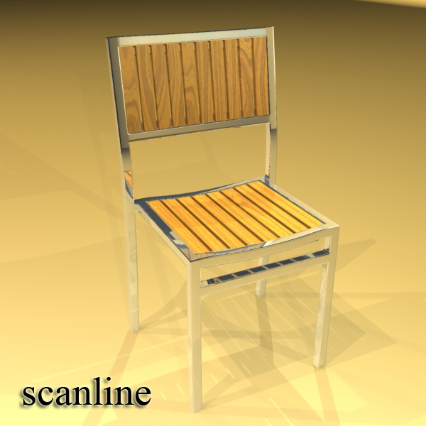 outdoor chair 3d model 3ds max fbx obj 148381