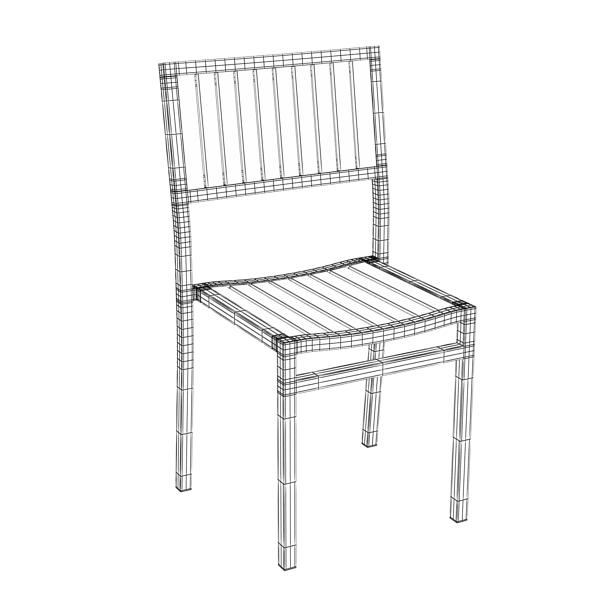 outdoor chair 3d model 3ds max fbx obj 148382